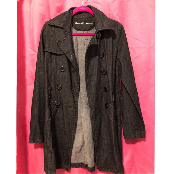 touch me Jackets & Blazers - Denim dark wash coat